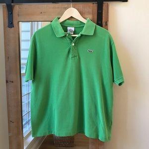 Lacoste Green Polo shirt